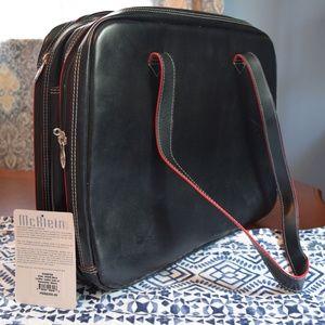 NWT McKlein leather laptop bag